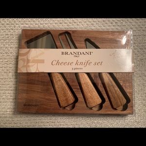 BRANDANI Cheese Knife set made in ITALY NEW!